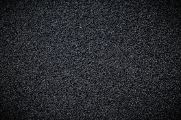 Black background or texture concrete road wall Premium Photo
