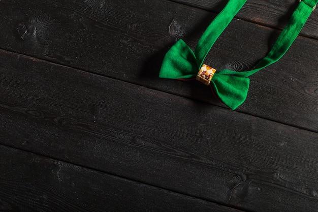 Black bow tie isolated on white. Premium Photo