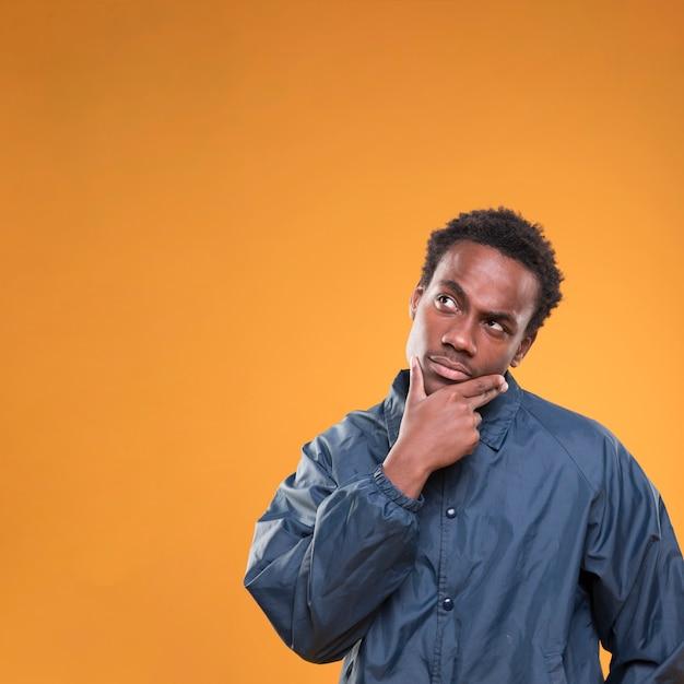 Black boy posing Free Photo