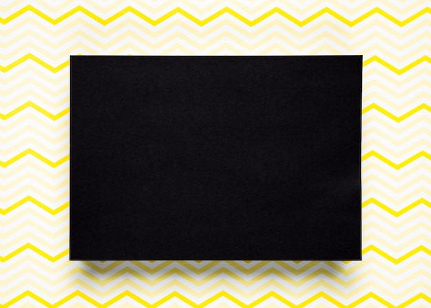 Black cardboard with pattern background Free Photo