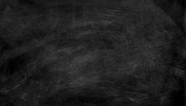 Black chalk board texture Premium Photo
