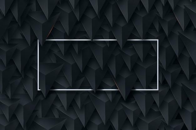 Black, creative background Premium Photo