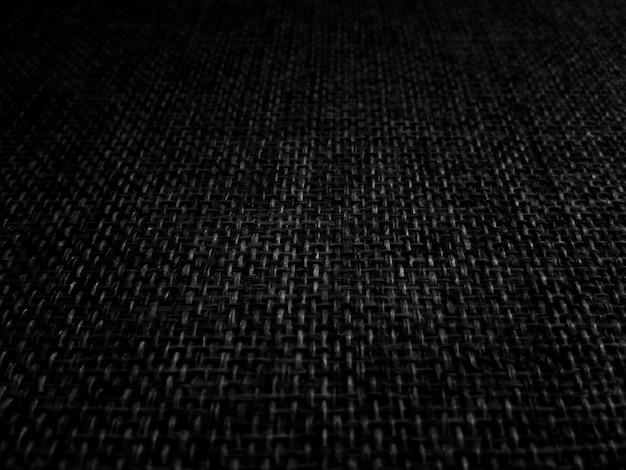 Черная ткань шаблон абстрактные текстуры фона Premium Фотографии