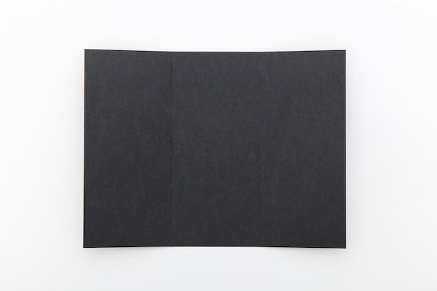 Черная сложенная брошюра Бесплатные Фотографии
