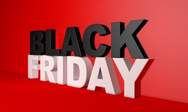 Черная пятница рекламный знак Premium Фотографии