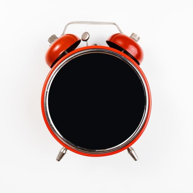 Black friday alarm clock mock-up Premium Photo