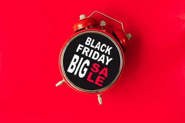 Black friday big sale alarm clock Free Photo