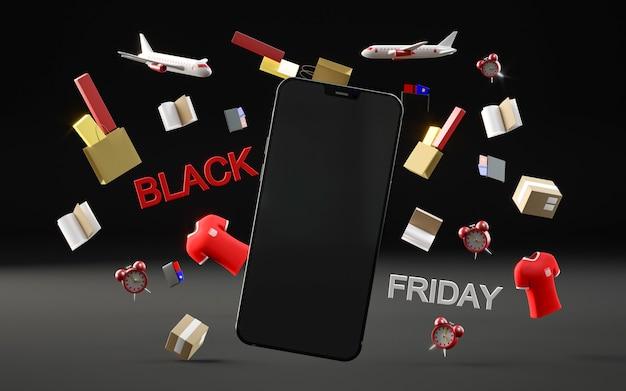 Черная пятница с телефоном Бесплатные Фотографии