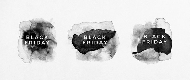 Black friday sale black label collection Free Photo