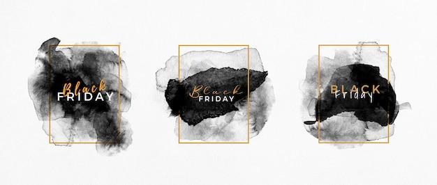 검은 금요일 판매 블랙 라벨 컬렉션 무료 사진