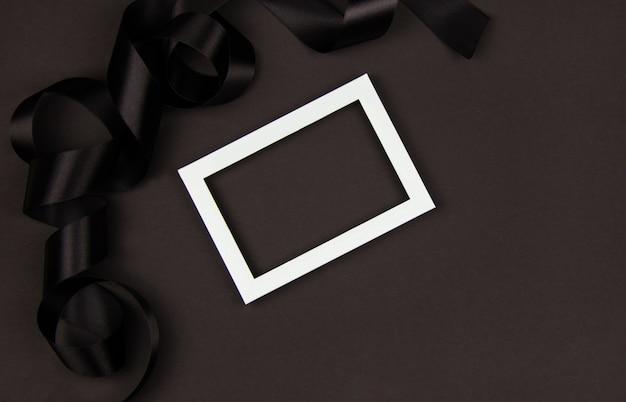 フレーム付きブラックフライデーセールのコンセプト Premium写真