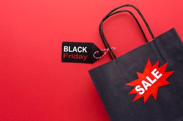 Assortimento di vendita venerdì nero con spazio di copia Foto Gratuite