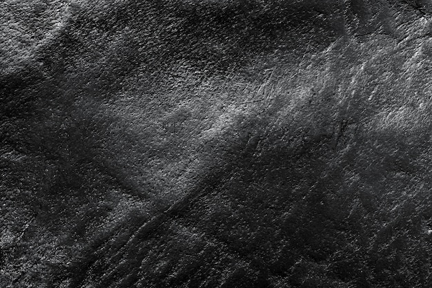 Black Leather Texture Free Photo