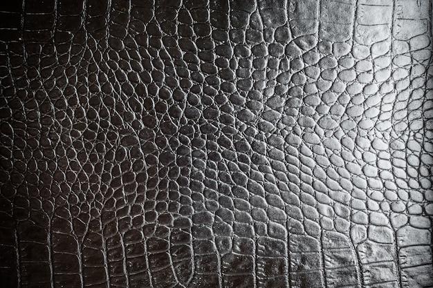 Black leather textures Premium Photo