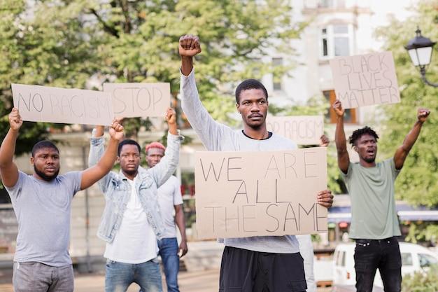 Black live matter protest Free Photo