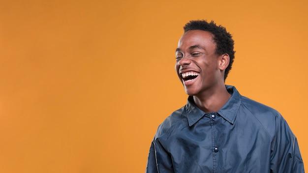 Black man posing Free Photo