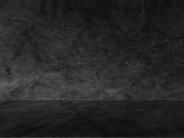 Modello naturale in marmo nero per sfondo, astratto in bianco e nero. Foto Gratuite