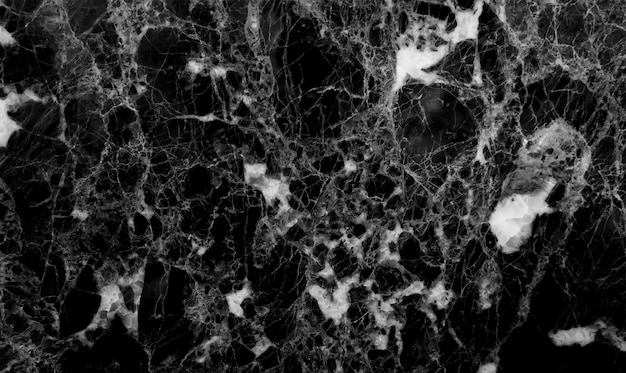 Black marble texture background, abstract marble texture (natural patterns) for design. Premium Photo