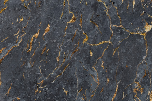 Black marbled surface Free Photo