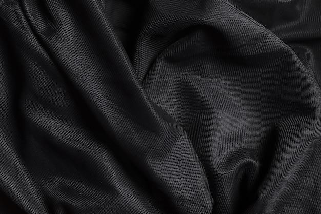 黒い装飾室内装飾生地素材 Premium写真
