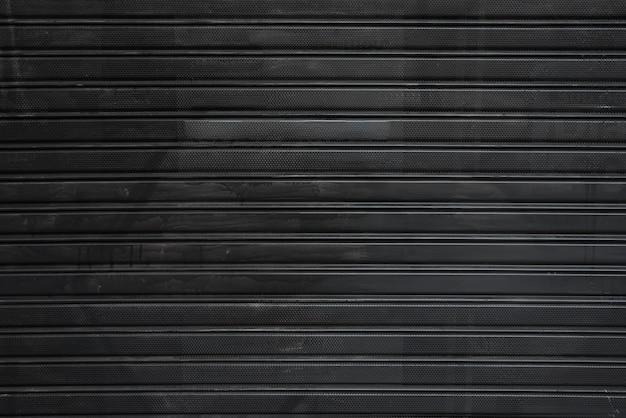 Black profiled sheeting Free Photo