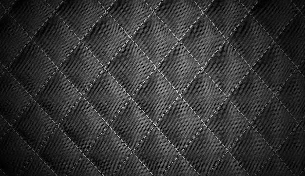 Black queue textile texture background Premium Photo