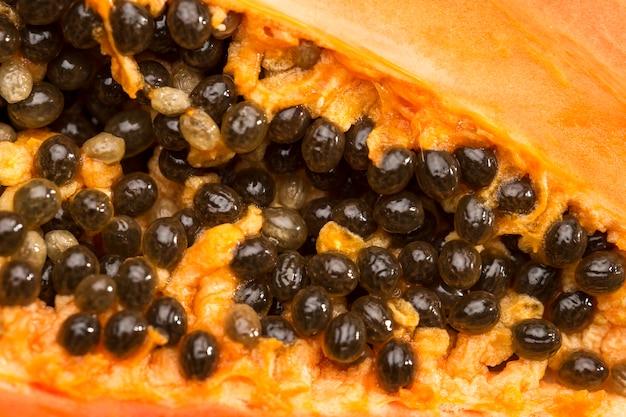 Черные семена папайи Бесплатные Фотографии