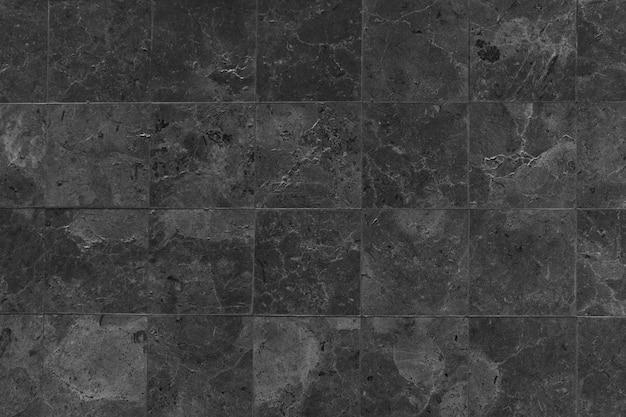 Black stones tiled floor Free Photo
