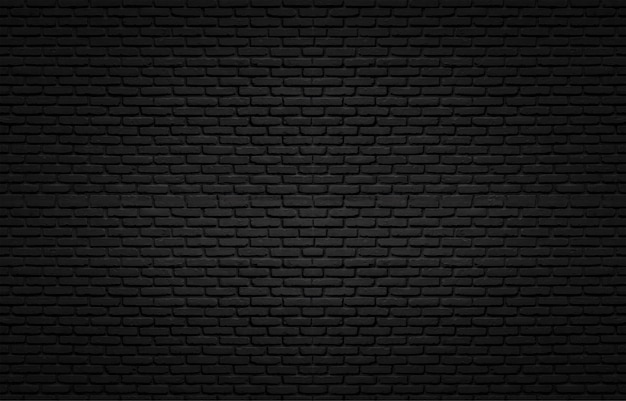 Black texture with brick wall for background Premium Photo