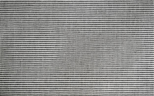 Black and white knitted fabric texture Premium Photo