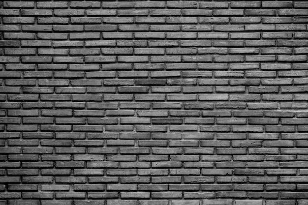 Black and white old brick wall Premium Photo