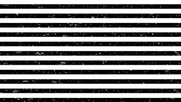 Black and white strip line warning sign pattern Premium Photo