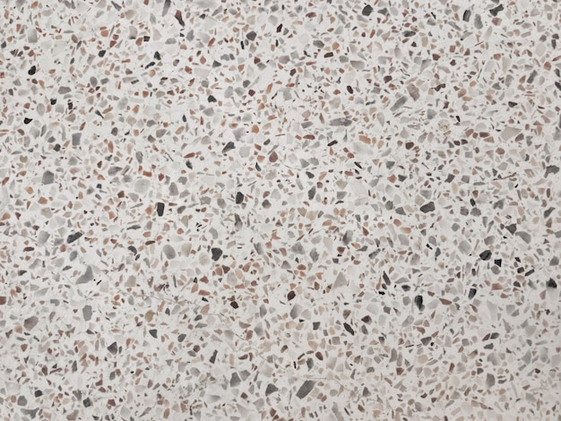 Black and white terrazzo texture Premium Photo