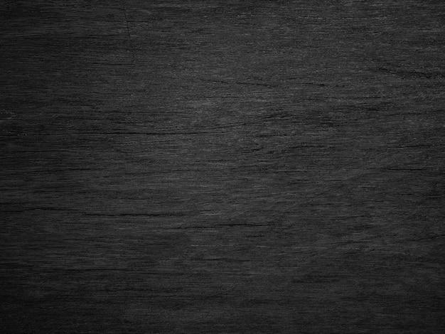Black wood texture background. Premium Photo