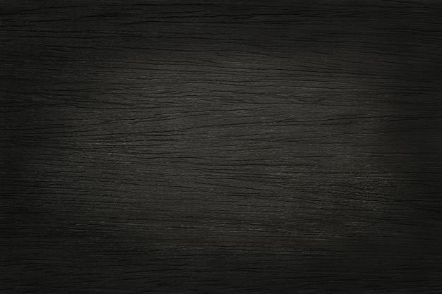 黒い木の板の壁の背景、古い自然なパターンと樹皮の木の質感。 Premium写真