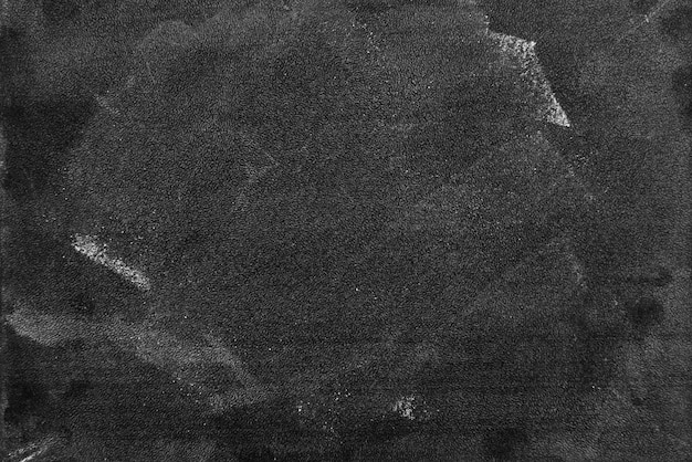 Blackboard dark or chalkboard with horizontal and banner / blank blackboard texture for chalk draw and write education in school chalkboard Premium Photo