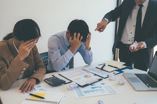 Blaming business concept Premium Photo