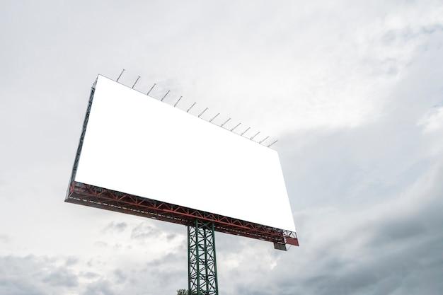 Blank billboard Premium Photo