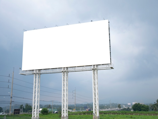 Blank billboard Premium Photo