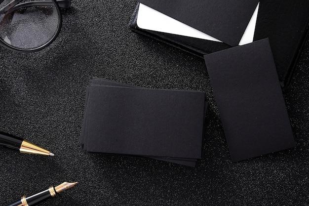 black business background