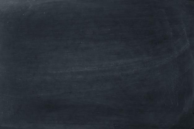 Пустой фон доски с мелом протереть. Premium Фотографии