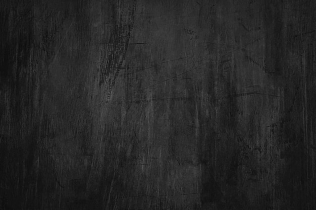 Blank blackboard background with scratches and dust. Premium Photo