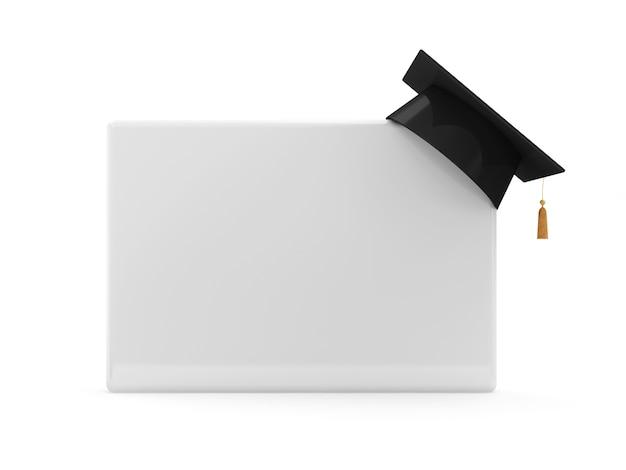 卒業キャップ付きブランクボード Premium写真