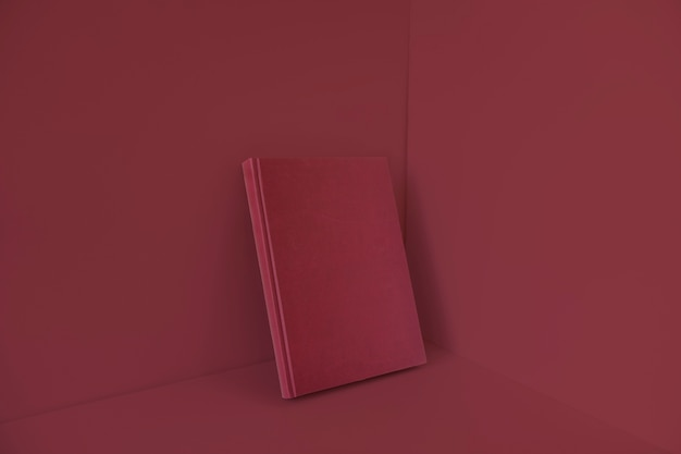 Blank book with red color effect Free Photo & Blank book with red color effect Photo | Free Download