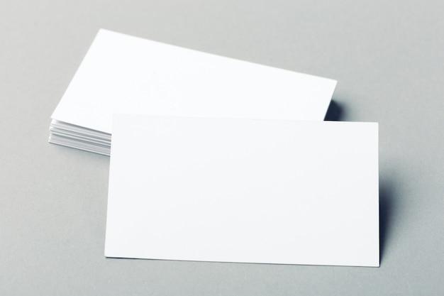 premium photo  blank business cards