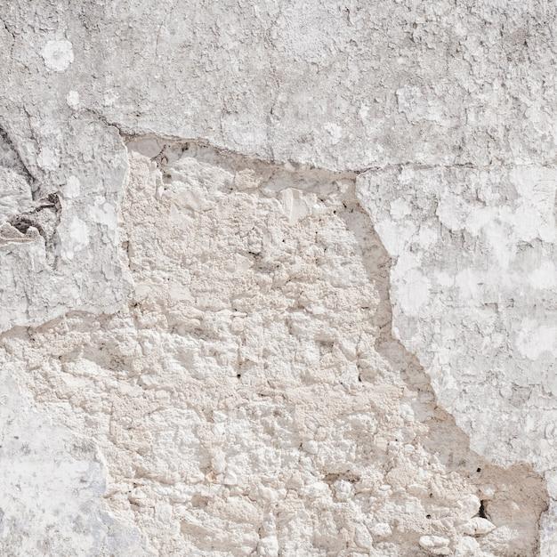 テクスチャのための空白のコンクリートの壁の白色 無料写真