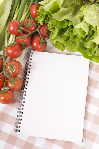 Blank cookbook Free Photo