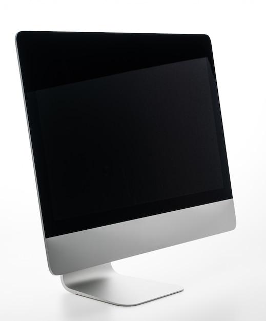 Blank desktop computer Free Photo