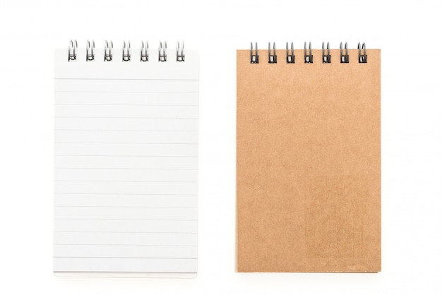 Blank mock up note book Free Photo