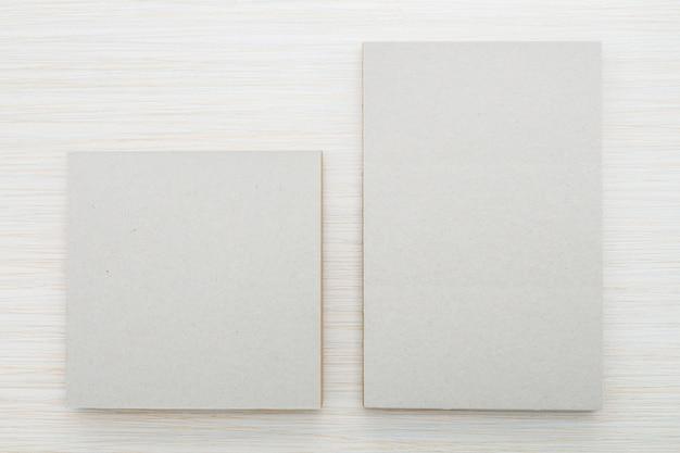Blank notebook mock up Free Photo